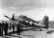 Asisbiz Grumman F6F 3 Hellcat VF 16 White 38 ready for launch CV 16 USS Lexington 1944 01