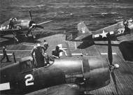 Asisbiz Grumman F6F 3 Hellcat VF 2 White 2 and 36 CV 12 USS Hornet June 1944 01