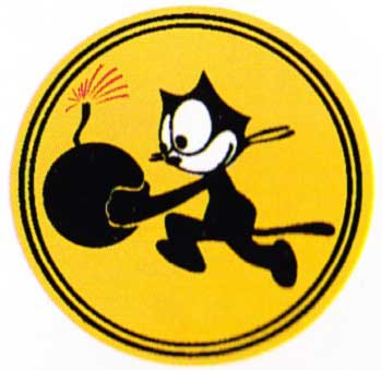 Artwork USN VF 3 Felix the Cat 0A