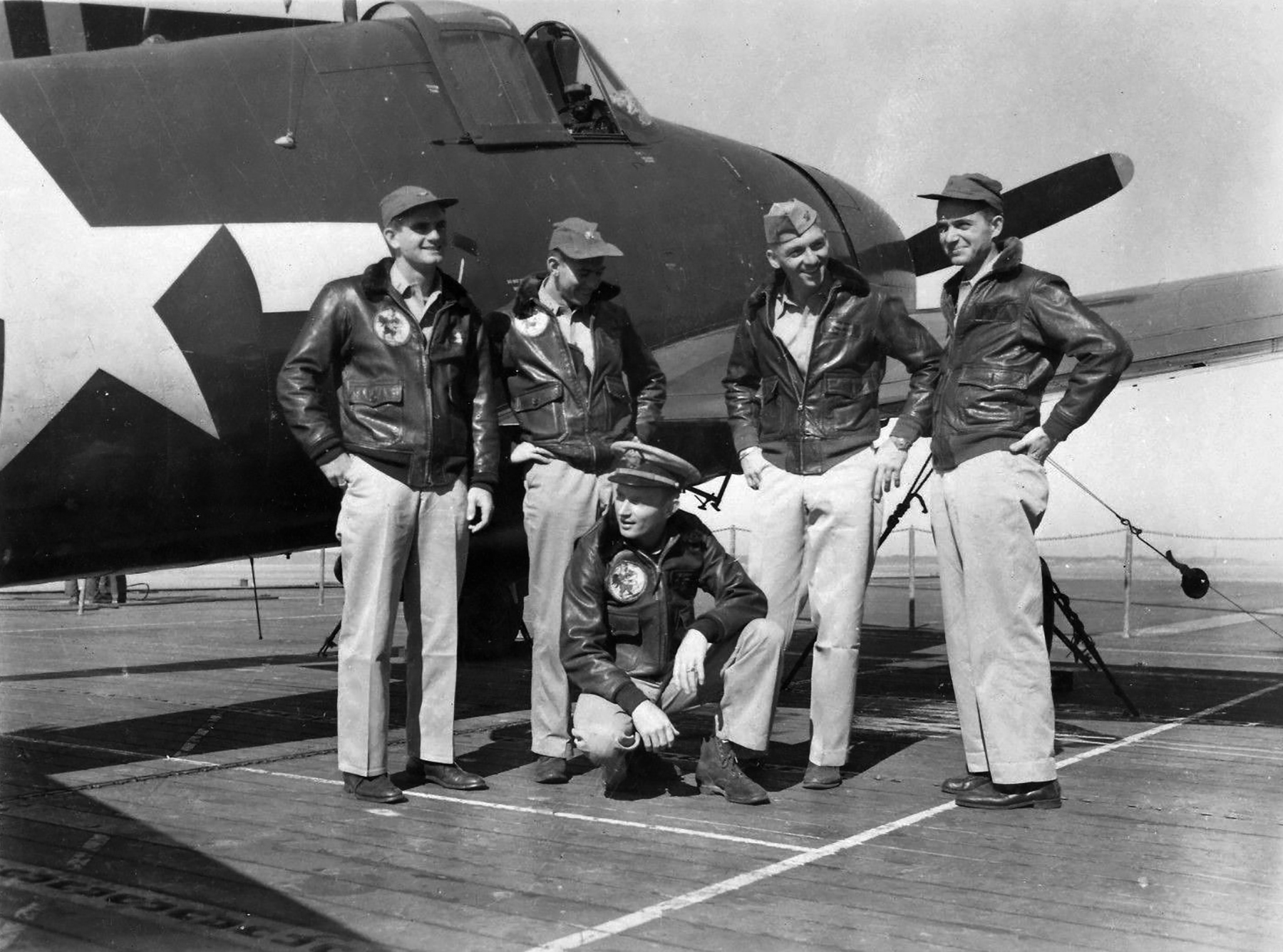 Grumman F6F 5 Hellcat VF 36 White xx CVE 112 USS Siboney Aug 1945 May 1946 01