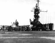 Asisbiz Grumman F6F 5 Hellcat VF 45 White 12 aboard CVL 30 USS San Jacinto Mar 1945 01