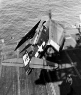 Asisbiz Grumman F6F 5 Hellcat VF 45 White 19 aboard CVL 30 USS San Jacinto 19th Mar 1945 01