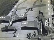 Asisbiz Grumman F6F 5 Hellcat White S22 and S23 aboard CVL 22 USS Independence 01