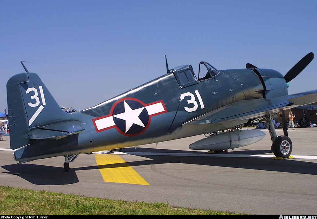 Airworthy warbird Grumman F6F 5N Hellcat POF Museum VF 5 02