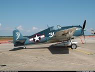 Asisbiz Airworthy warbird Grumman F6F 5N Hellcat POF Museum VF 5 01