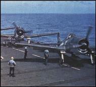 Asisbiz Grumman F6F 3 Hellcat VF 5 White 12 preparing for launch CV 10 USS Yorktown 01
