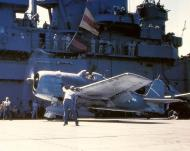 Asisbiz Grumman F6F 3 Hellcat VF 5 White 22 aboard CV 10 USS Yorktown 01