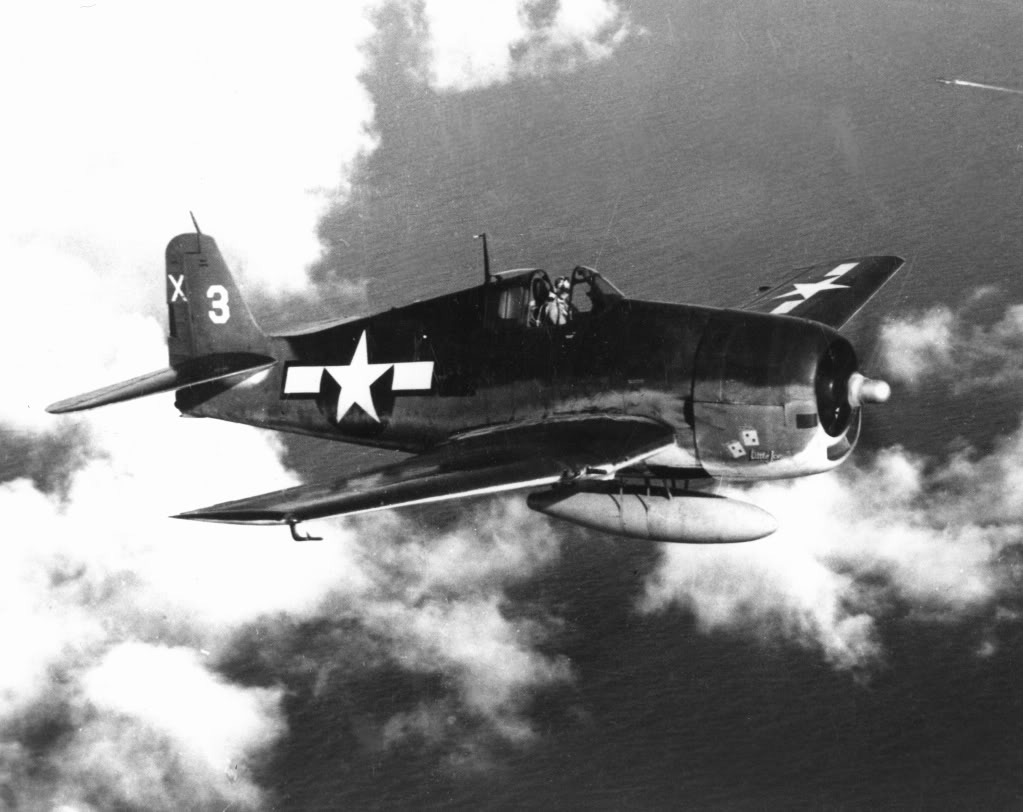 Grumman F6F 5 Hellcat VF 51 White 3X Little Joe from CVL 30 USS San Jacinto 20th July 1944 02
