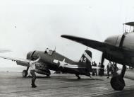 Asisbiz Grumman F6F 5 Hellcat VF 6 White 49 about to be catapulted from USS Suwannee 20th April 1945 01