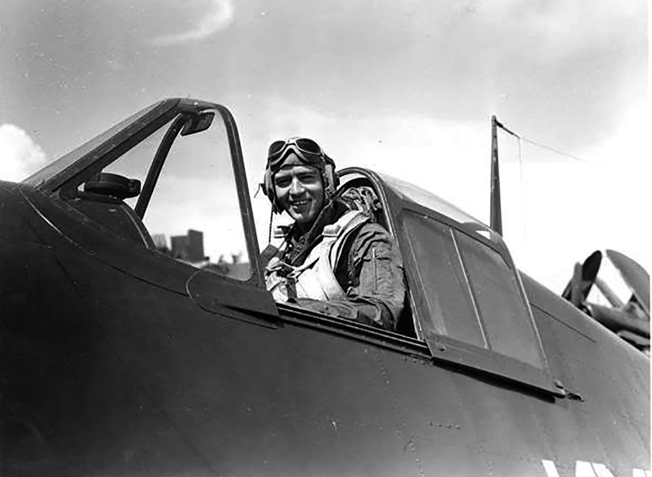 Aircrew USN Ens William J Kingston Jr VF 83 01