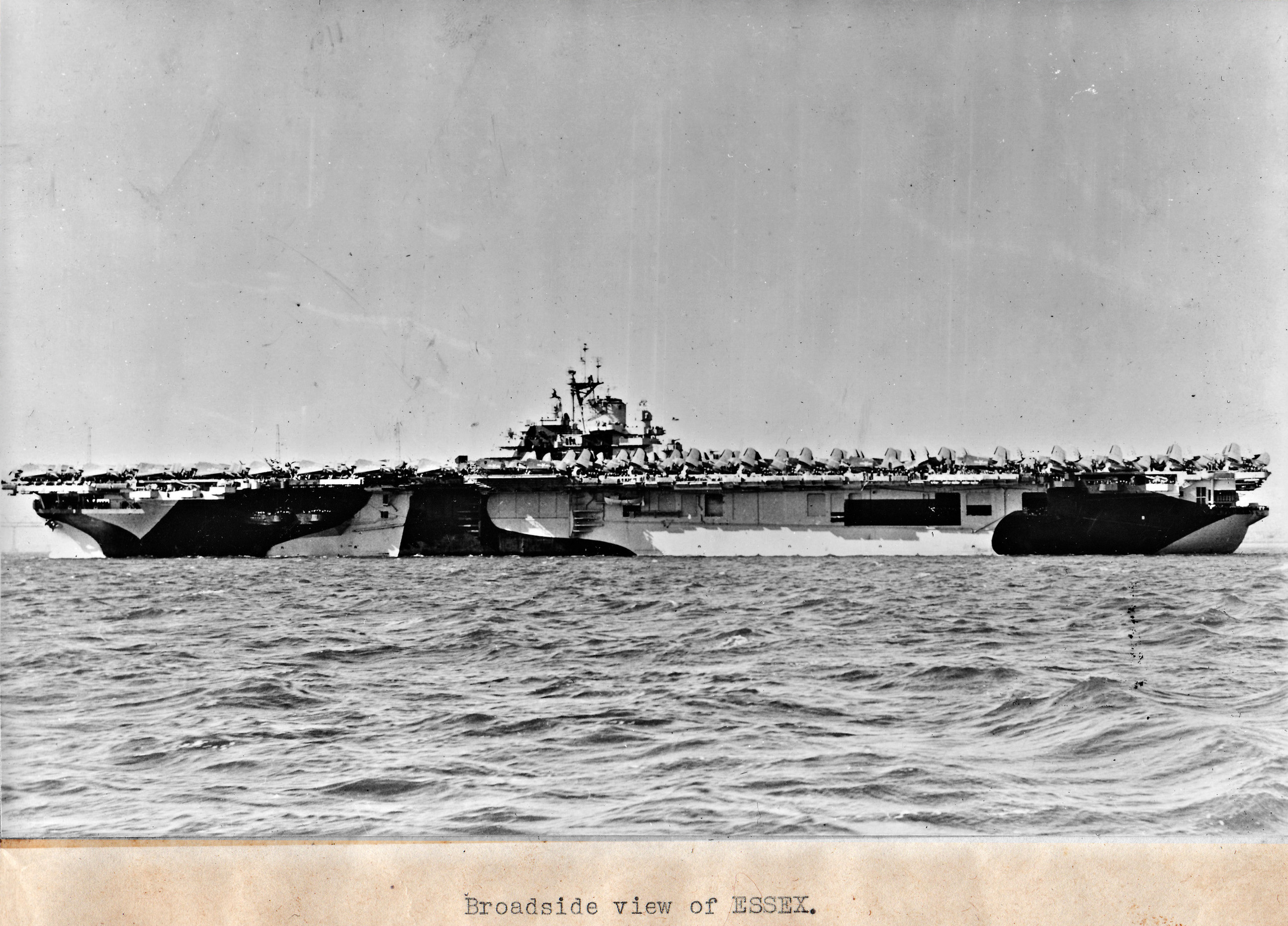 CV 9 USS Essex after her San Francisco refit April 15 1944 03