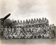Asisbiz Aircrew USN VF 83 flight crew abaord CV 6 USS Essex 1945 01