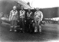 Asisbiz Aircrew USN VF 83 pilots aboard CV 9 USS Essex 02