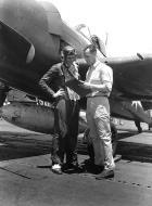 Asisbiz Aircrew USN VF 83 pilots aboard CV 9 USS Essex 05