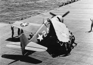 Asisbiz Grumman F6F 3 Hellcat White 24 aboard CV 9 USS Essex 01