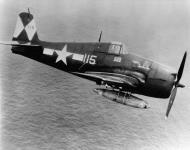 Asisbiz Grumman F6F 5 Hellcat VF 83 115 Death and Destruction BuNo 72534 CV 9 USS Essex May 5th 1945 01