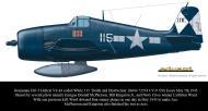 Asisbiz Grumman F6F 5 Hellcat VF 83 115 Death and Destruction BuNo 72534 CV 9 USS Essex May 5th 1945 0A
