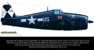 Asisbiz Grumman F6F 5 Hellcat VF 83 115 Death and Destruction BuNo 72534 CV 9 USS Essex May 5th 1945 0B