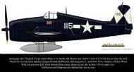 Asisbiz Grumman F6F 5 Hellcat VF 83 115 Death and Destruction BuNo 72534 CV 9 USS Essex May 5th 1945 0C