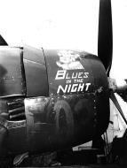Asisbiz Grumman F6F 5 Hellcat VF 83 most likely named Blues in the Night aboard CV 9 USS Essex 1945 02