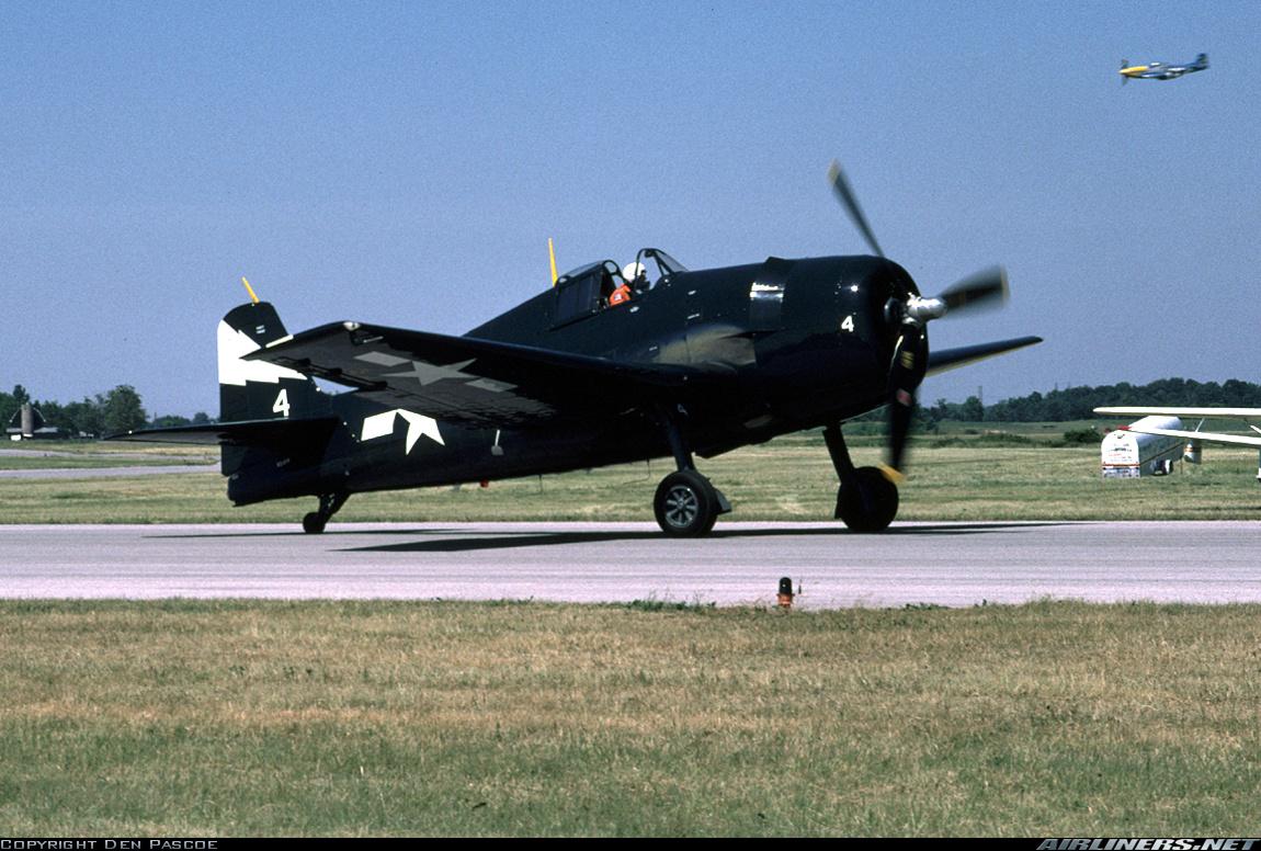 Airworthy warbird Grumman F6F 5K Hellcat N4PP 79683 01
