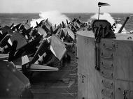 Asisbiz Grumman F6F 5 Hellcat VF 94 White 99 aboard CV 16 USS Lexington 14th Feb 1945 01