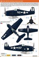 Asisbiz Grumman F6F 5N Hellcat VMFN 511 IM White 92 CVE 106 USS Block Island April 1945 0B