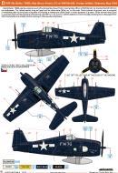 Asisbiz Grumman F6F 5N Hellcat VMFN 542 Bruce Porter CO BuNo 78669 Yontan airfield Okinawa May 1945 0B