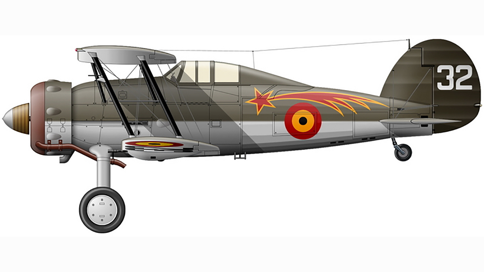 Gladiator I 1.I.2Ae Comet G 32 May 1940 0A