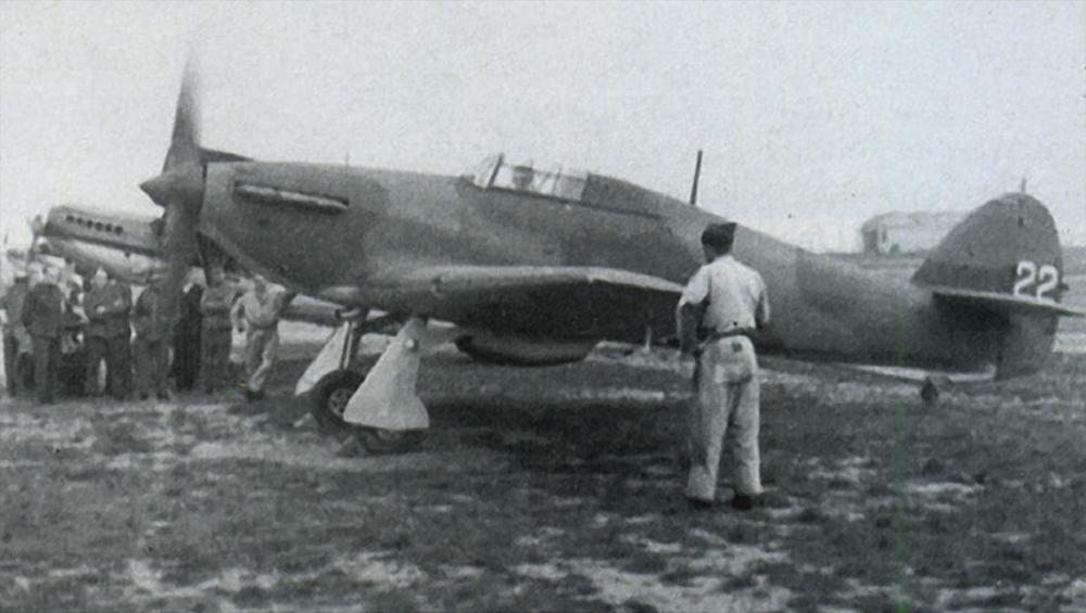 Hawker Hurricane I Belgium 2Esc H22 Belgium 1940 01