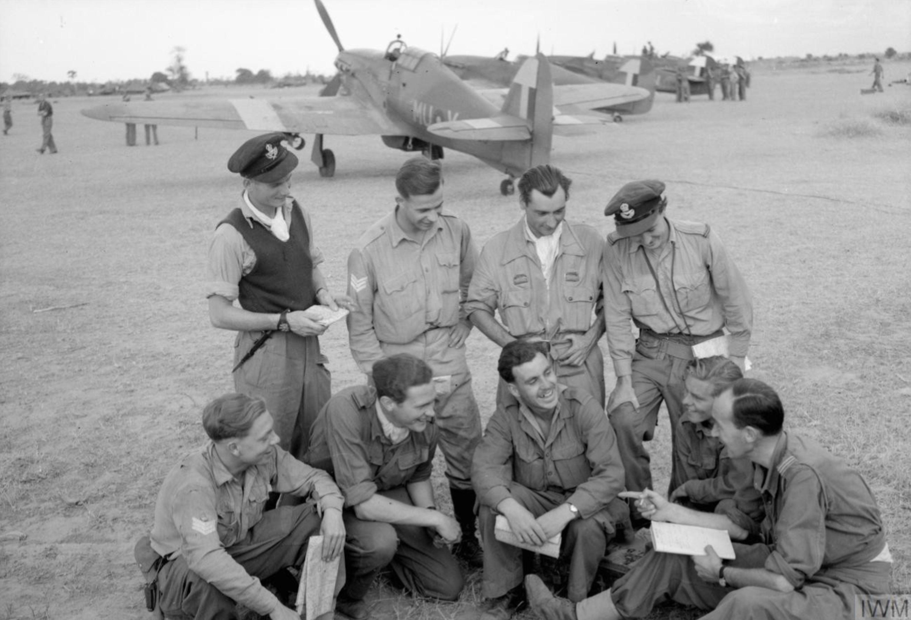 Hurricane IIc RAF 166 Wing MUK IWM CF350