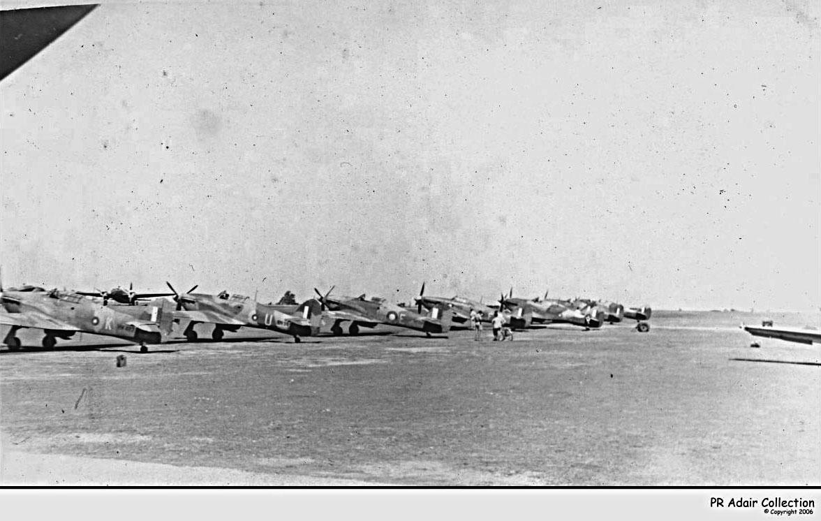Hurricane IIc Trop RAF 35Sqn K and U Imphal India 1944 01