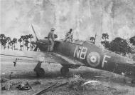 Asisbiz Hurricane I IAF 1Sqn NBF named Dolly AG291 Arakkonam India Dec 1942 01