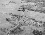 Asisbiz Hurricane IIc RAF 42Sqn attack a bridge on the Nambol River IWM CF175