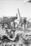 Asisbiz Hurricane IIc RAF 60Sqn E LB941 Sadaung Burma IWM CF397