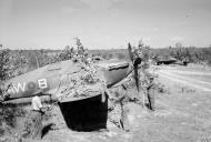 Asisbiz Hurricane IV RAF 42Sqn AWB KX802 n AWC LF47 Onbauk Burma Oct 1944 45 IWM CF262