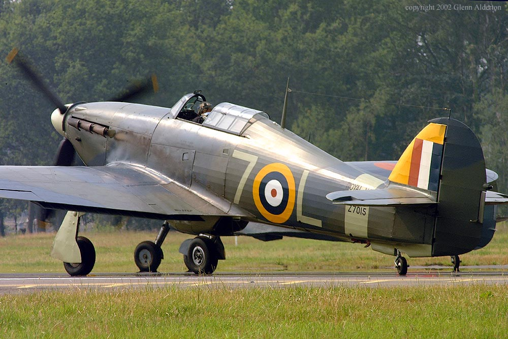 Airworthy Warbird Hawker Hurricane IIc RN 800NAS 7L Z7015 registered G BKTH 01