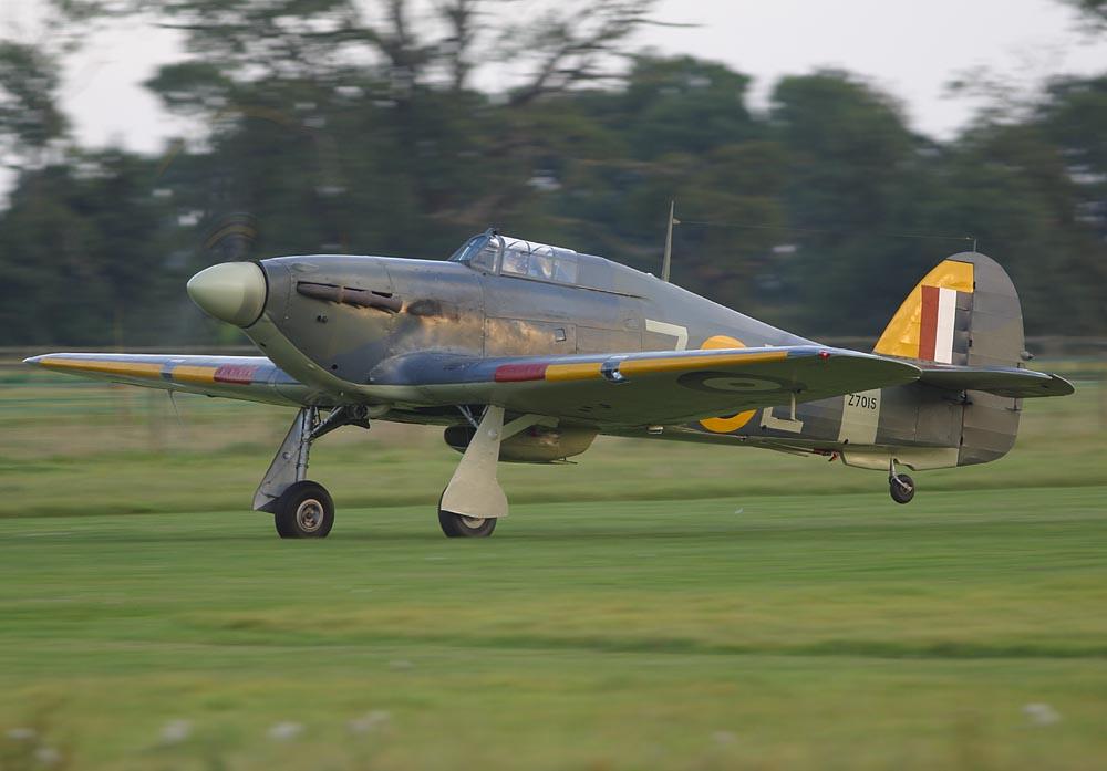Airworthy Warbird Hawker Hurricane IIc RN 800NAS 7L Z7015 registered G BKTH 02