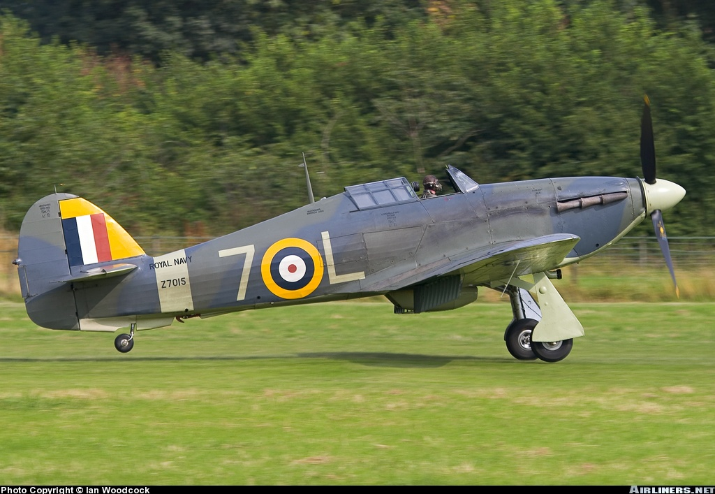 Airworthy Warbird Hawker Hurricane IIc RN 800NAS 7L Z7015 registered G BKTH 04