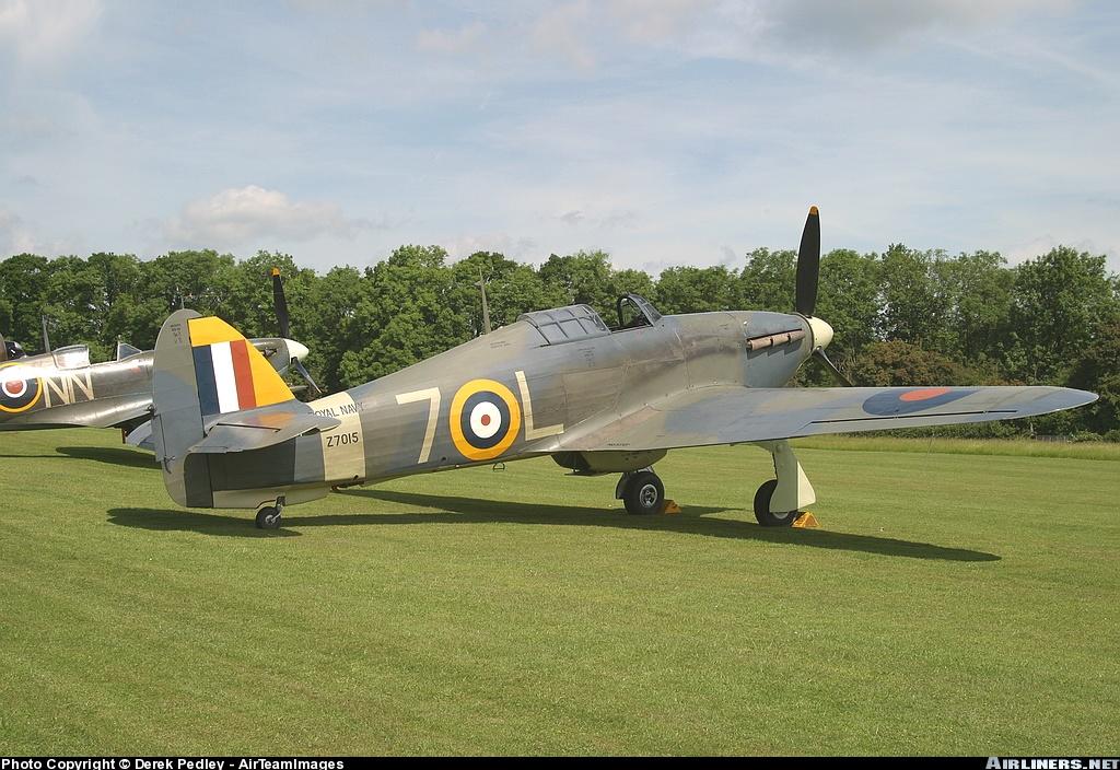 Airworthy Warbird Hawker Hurricane IIc RN 800NAS 7L Z7015 registered G BKTH 05