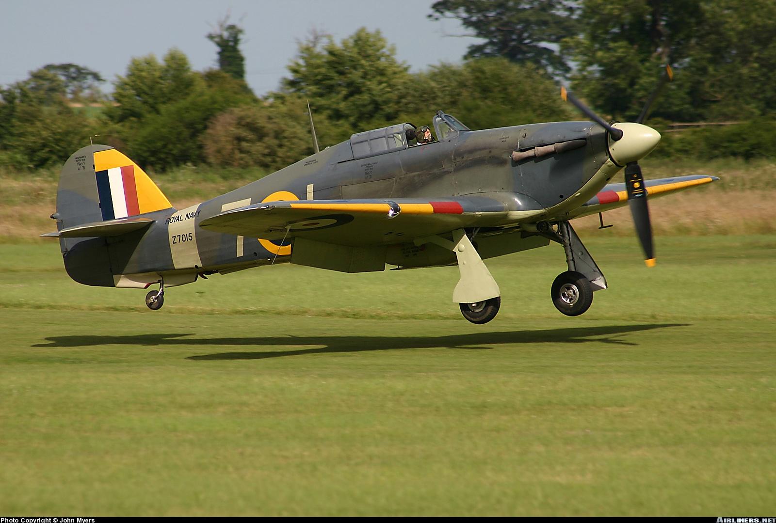 Airworthy Warbird Hawker Hurricane IIc RN 800NAS 7L Z7015 registered G BKTH 06