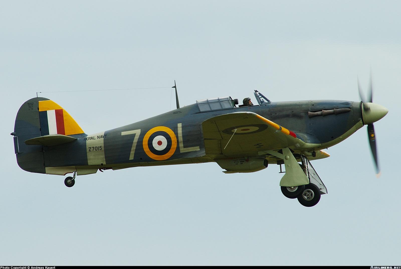 Airworthy Warbird Hawker Hurricane IIc RN 800NAS 7L Z7015 registered G BKTH 07