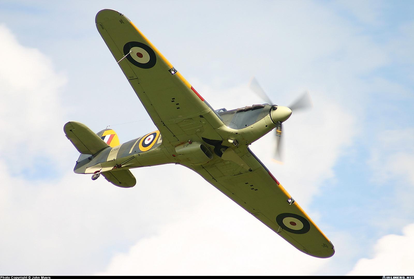 Airworthy Warbird Hawker Hurricane IIc RN 800NAS 7L Z7015 registered G BKTH 08