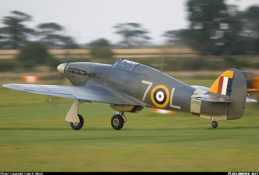 Airworthy Warbird Hawker Hurricane IIc RN 800NAS 7L Z7015 registered G BKTH 10