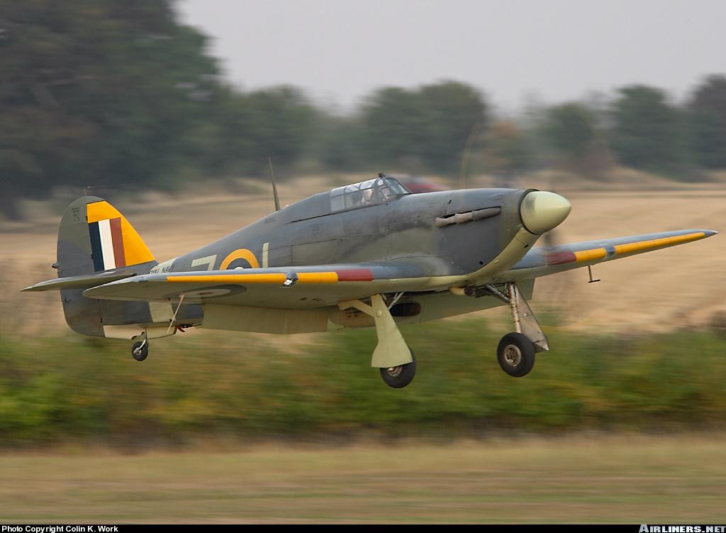 Airworthy Warbird Hawker Hurricane IIc RN 800NAS 7L Z7015 registered G BKTH 12