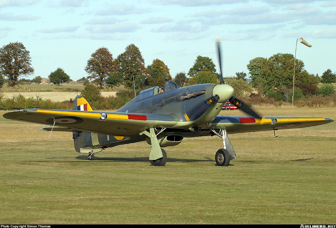 Airworthy Warbird Hawker Hurricane IIc RN 800NAS 7L Z7015 registered G BKTH 13