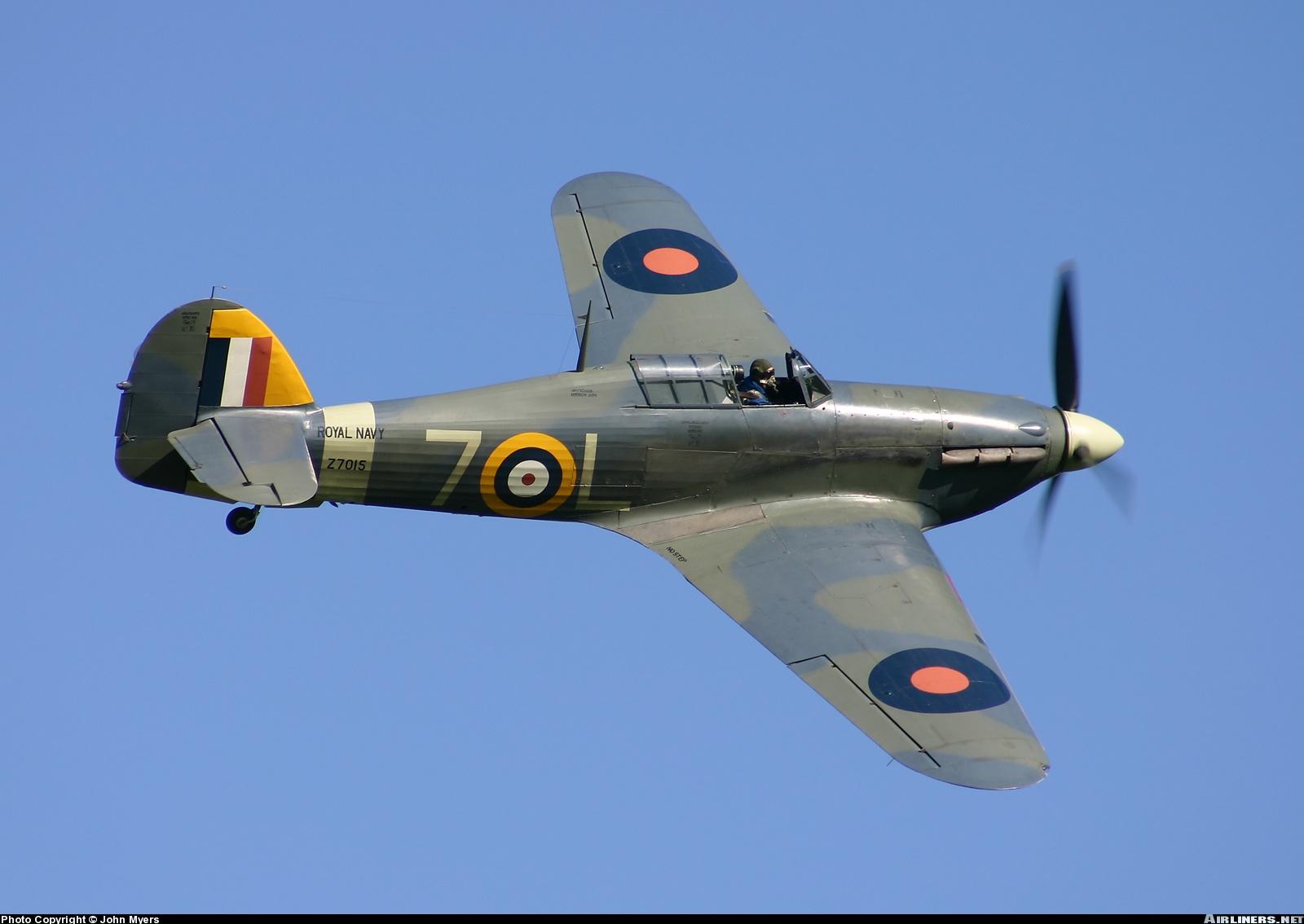 Airworthy Warbird Hawker Hurricane IIc RN 800NAS 7L Z7015 registered G BKTH 15