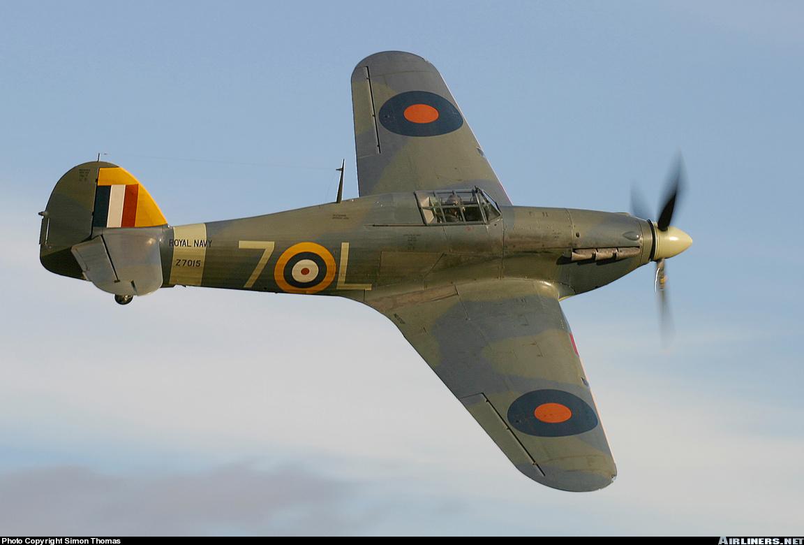Airworthy Warbird Hawker Hurricane IIc RN 800NAS 7L Z7015 registered G BKTH 16