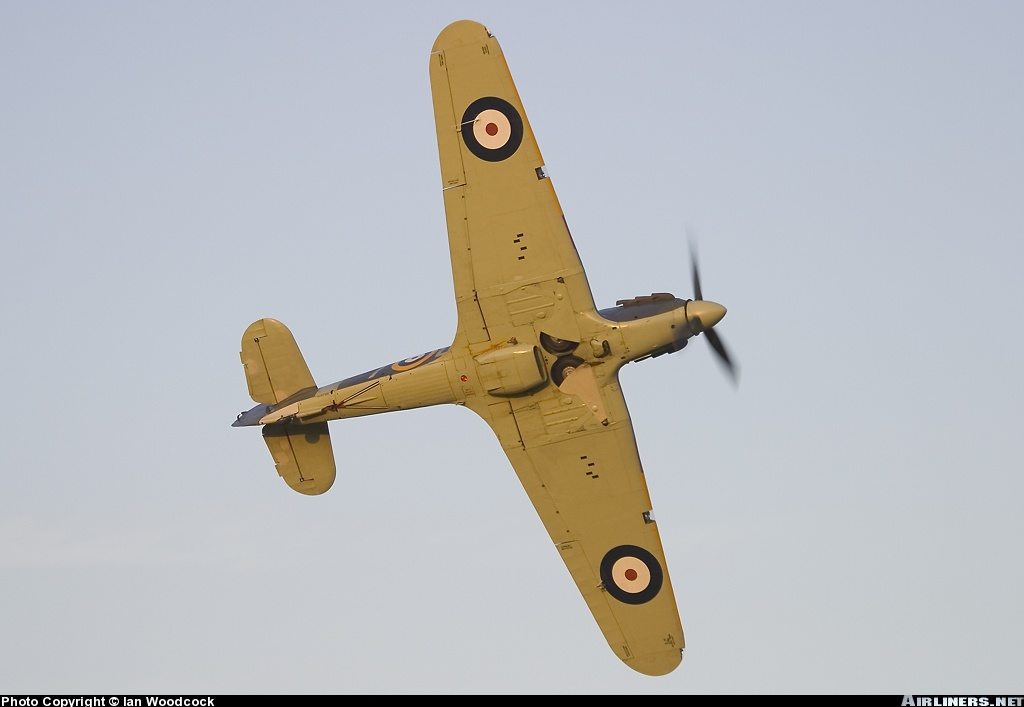 Airworthy Warbird Hawker Hurricane IIc RN 800NAS 7L Z7015 registered G BKTH 17