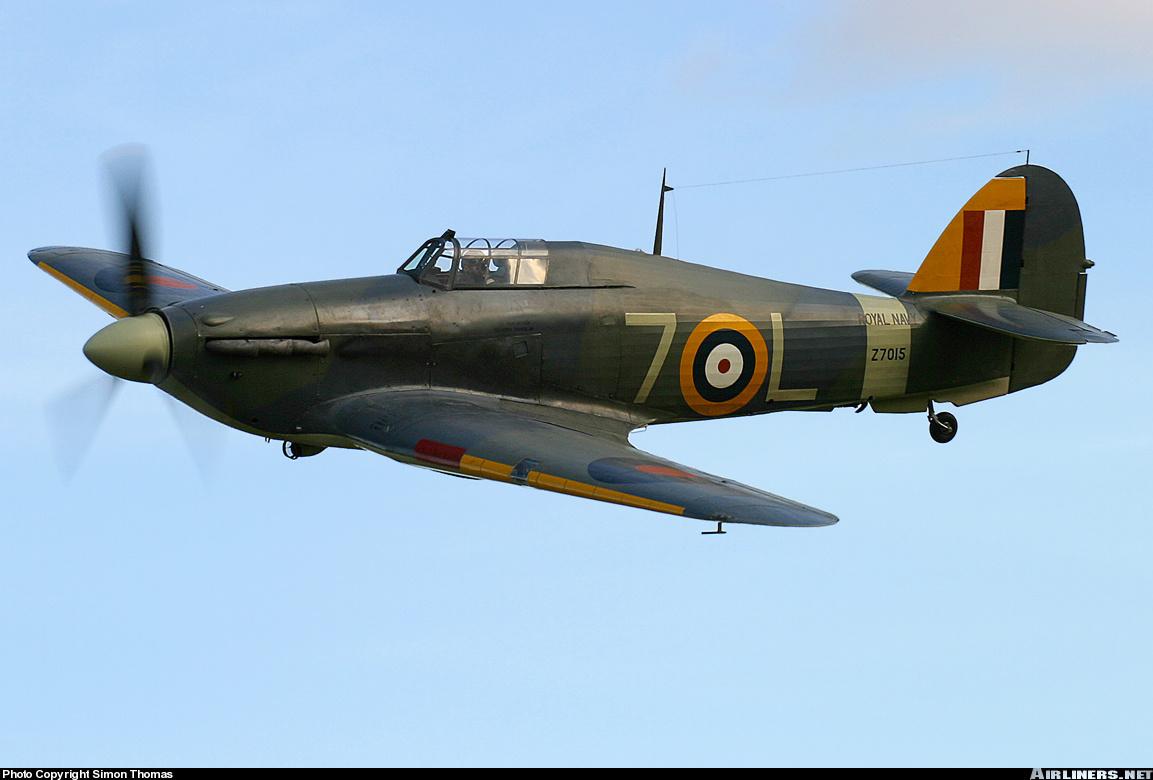 Airworthy Warbird Hawker Hurricane IIc RN 800NAS 7L Z7015 registered G BKTH 19
